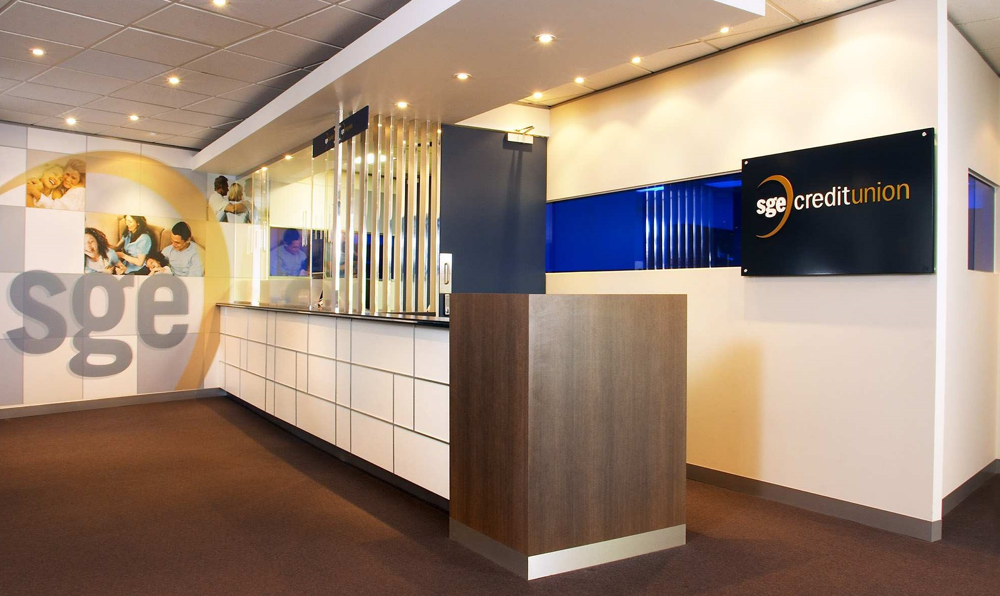 Interior design for finance insurance office sge for Office design considerations