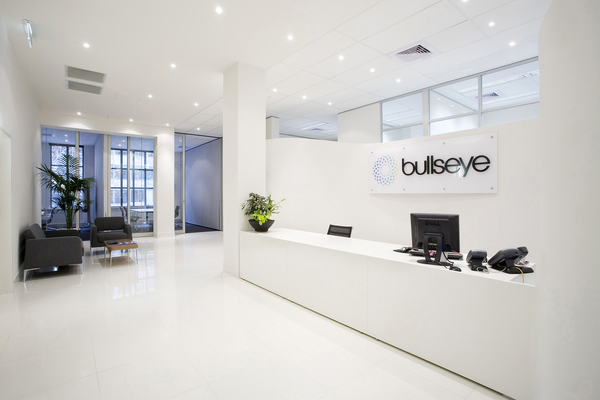Marketing office designers for bullseye in2space for Marketing office design