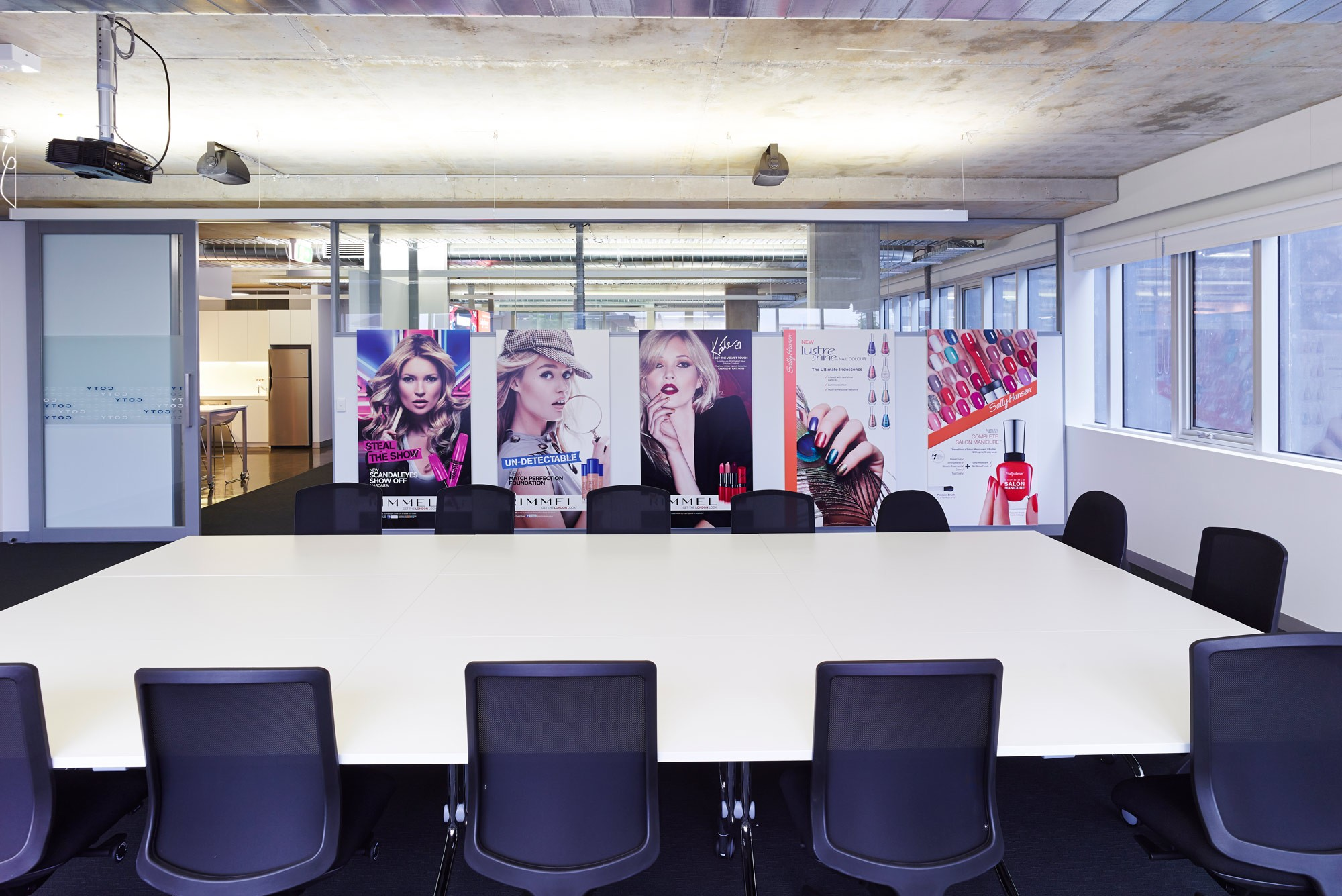 Marketing office designers for coty in2 space for Marketing office design