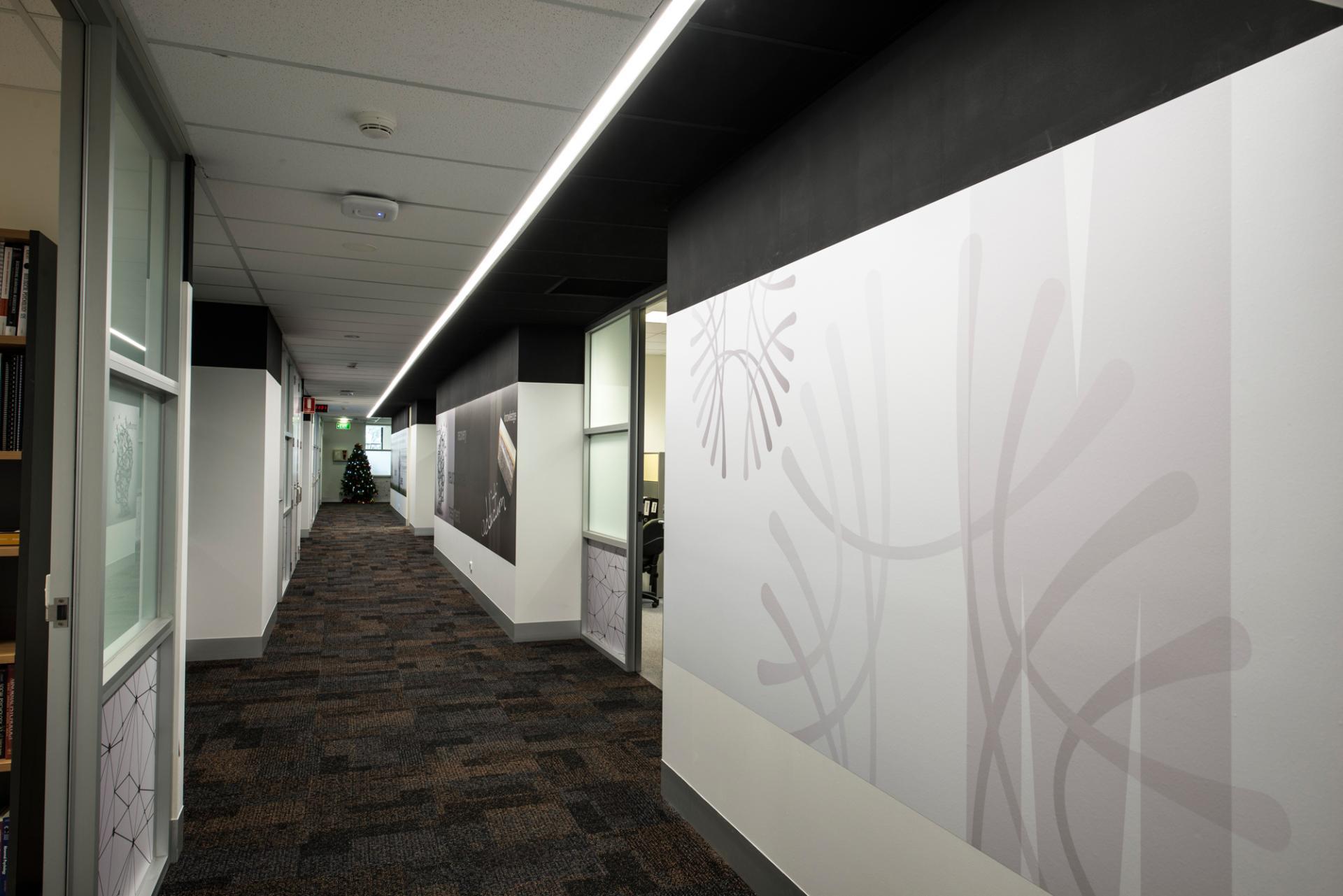 Office interior refurbishment monash uni project for Interior designs melbourne